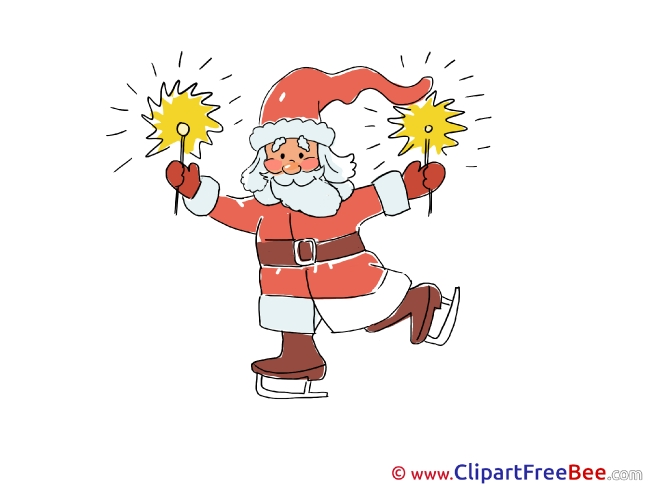 Sparklers free Illustration Christmas