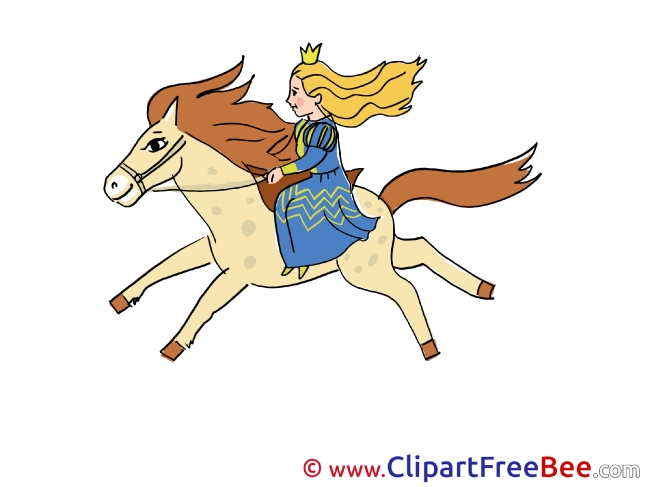 Horse Princess Fairy Tale free Images download
