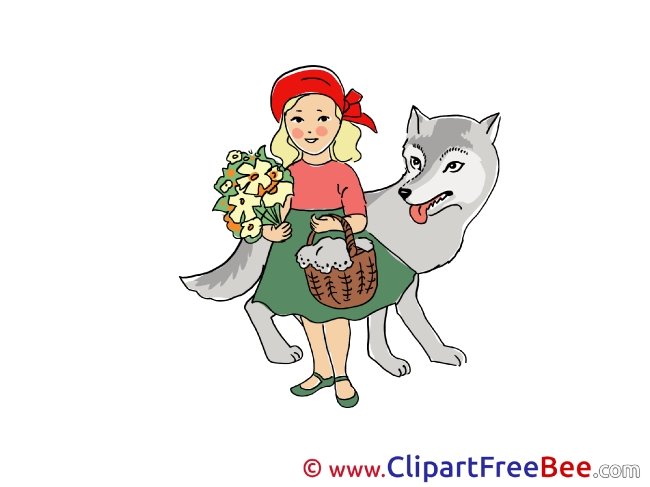Little Red Riding Hood download Clipart Fairy Tale Cliparts