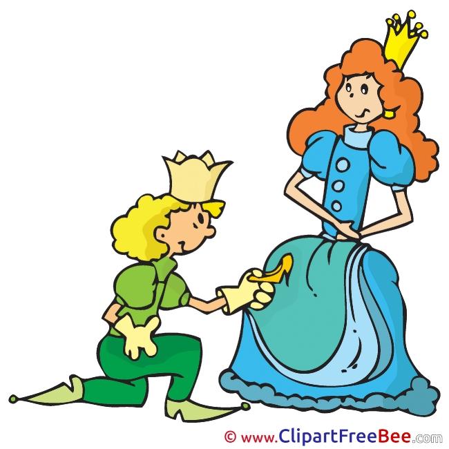 Prince Princess Shoe Clipart Fairy Tale free Images