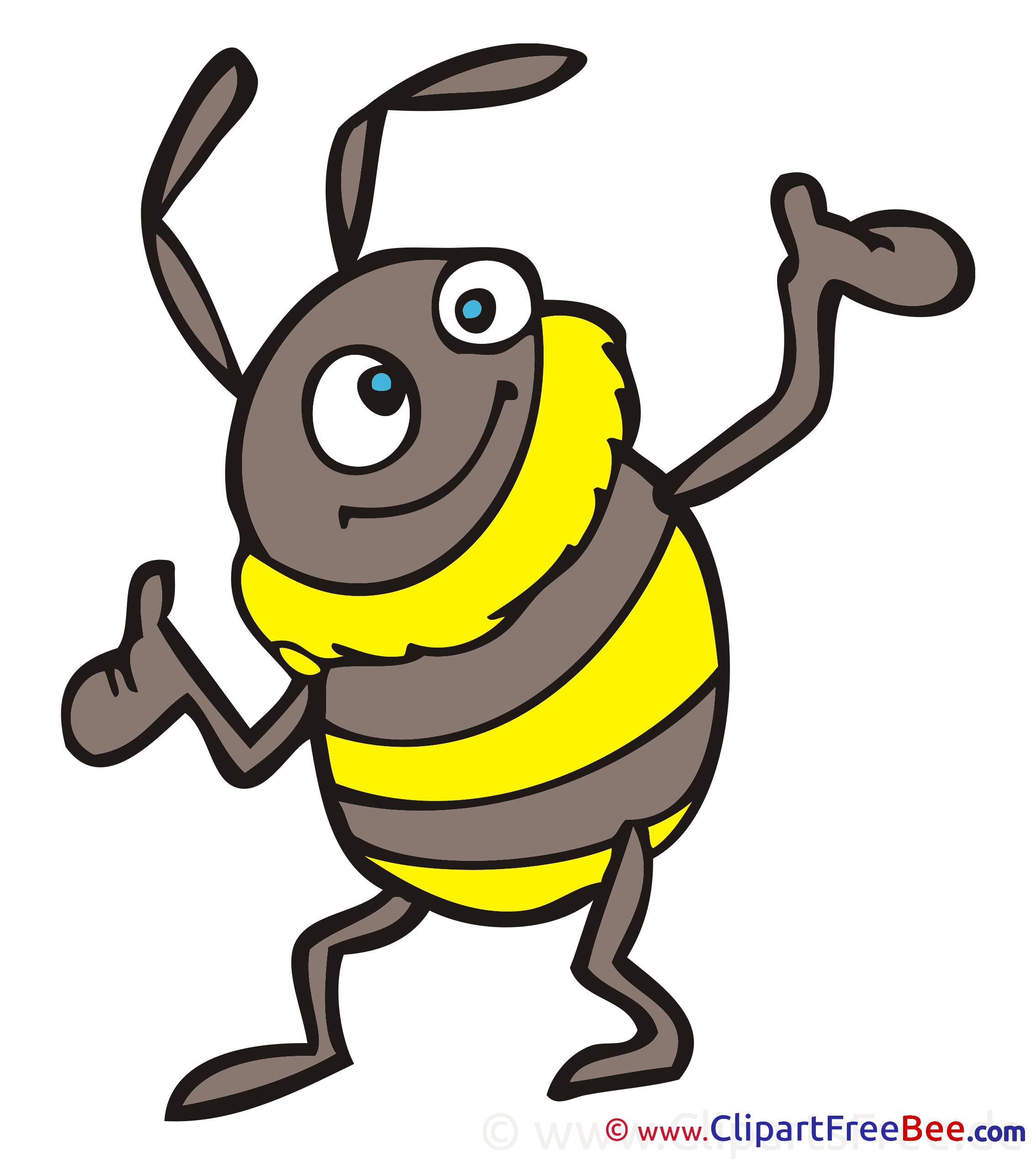 Bumblebee Clipart free Illustrations