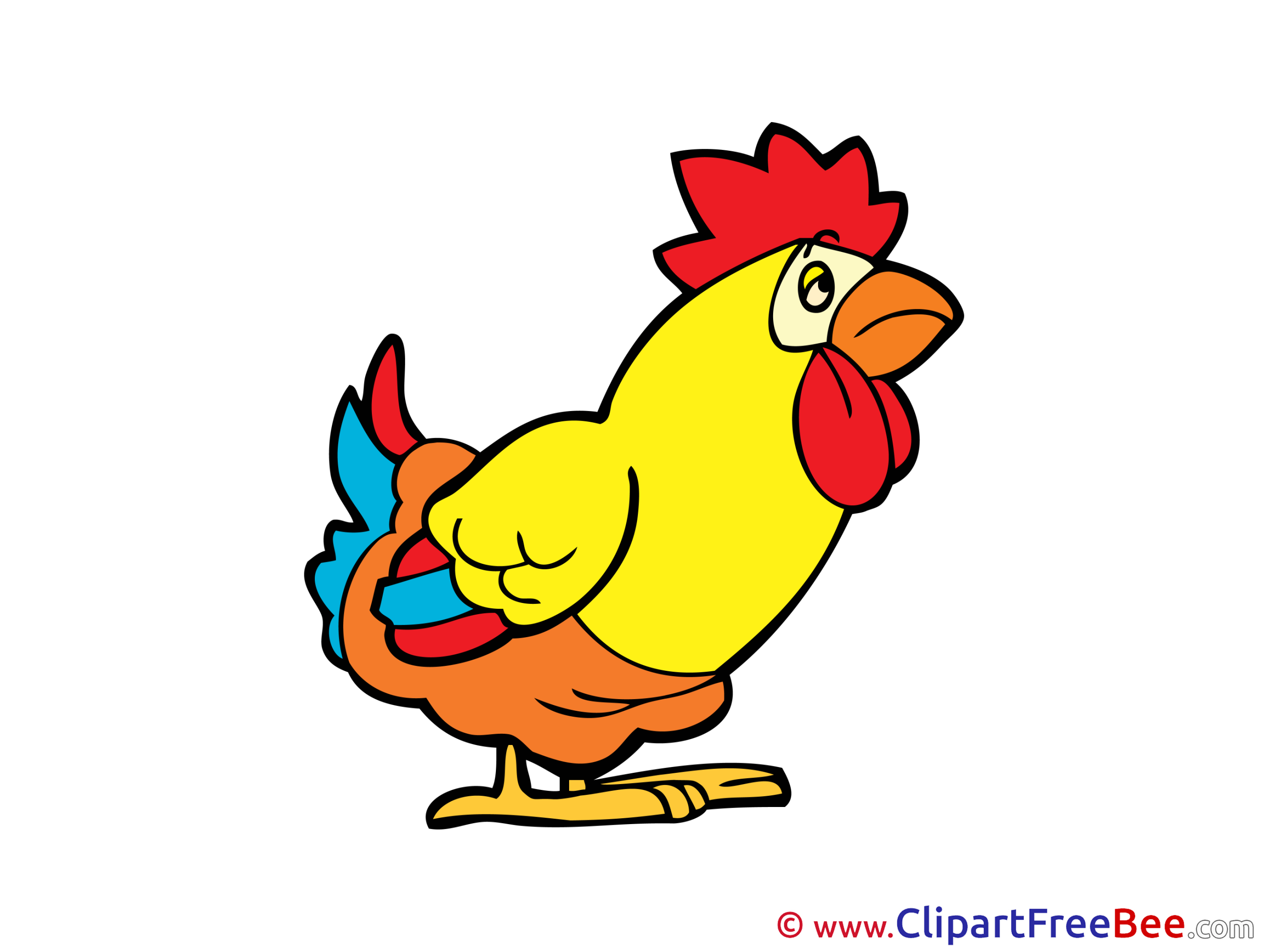 Cock Clipart free Illustrations