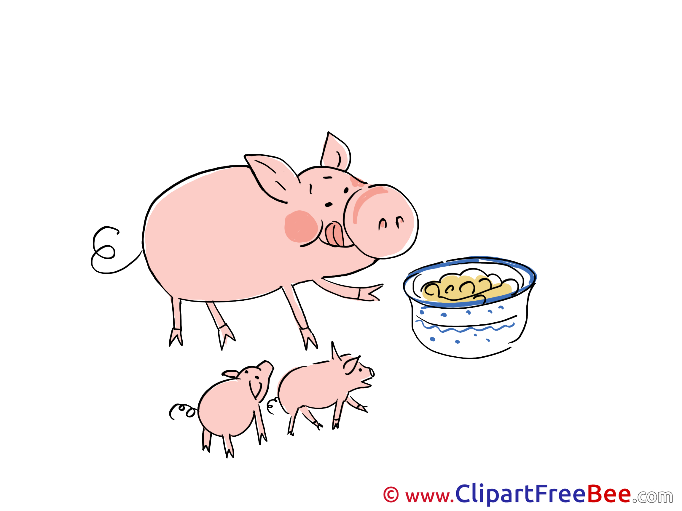 Food Piggs printable Images for download