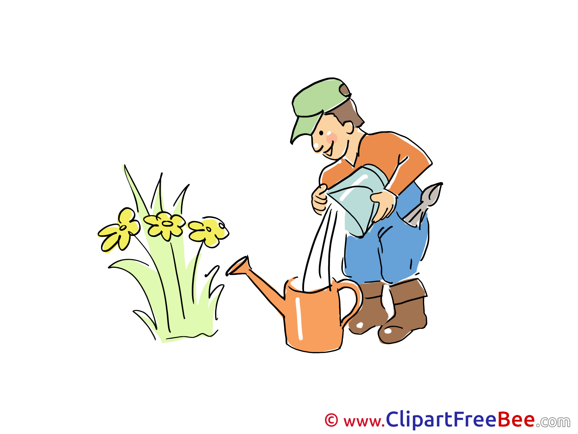 Gardener free Cliparts for download