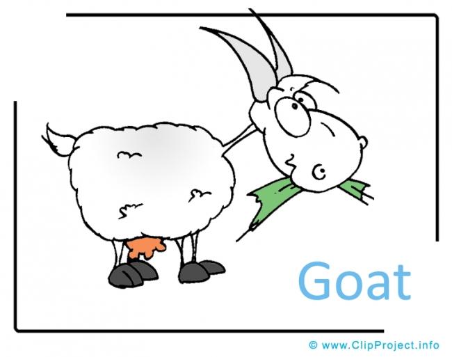 Goat Clipart Image free - Farm Cliparts free