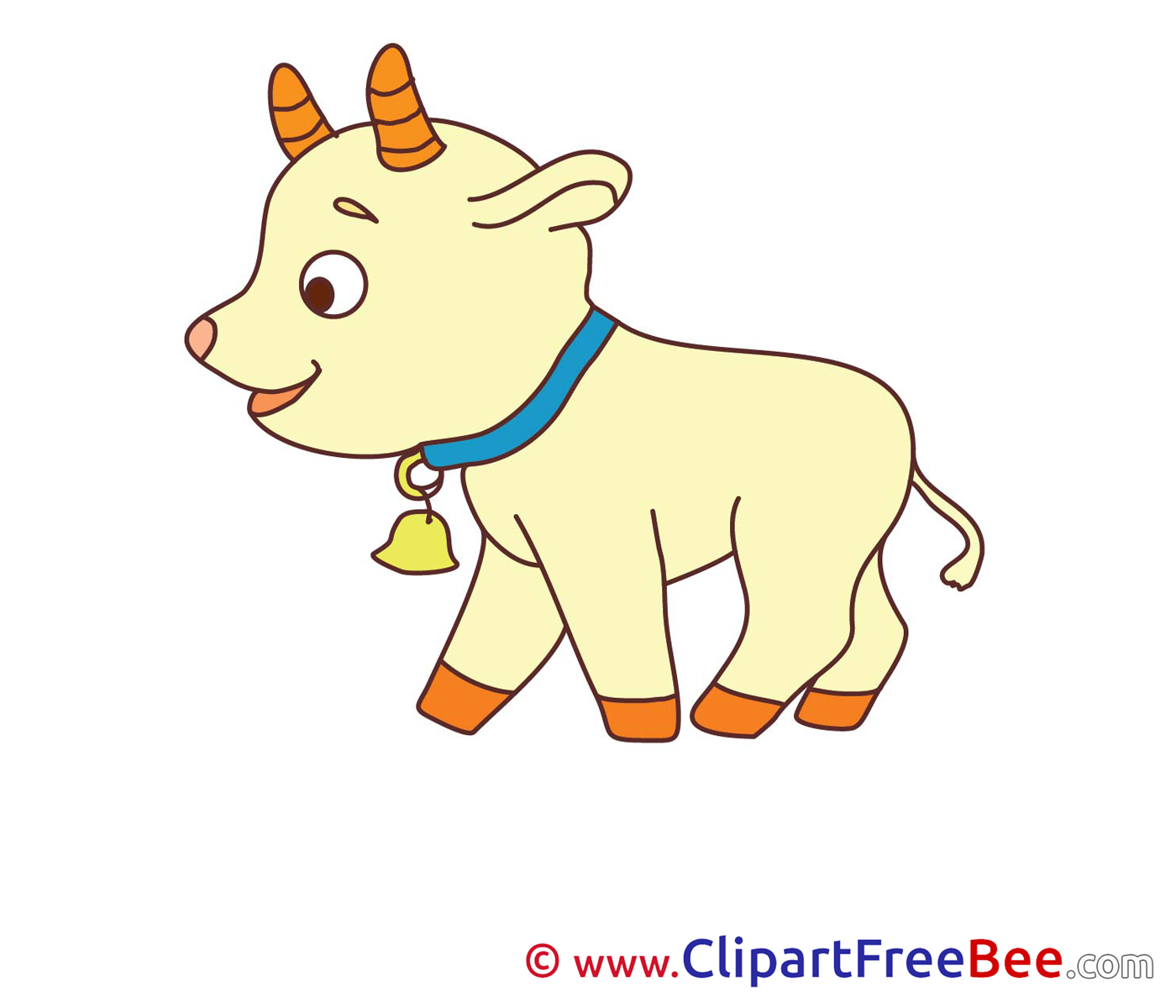Goatling Cliparts printable for free