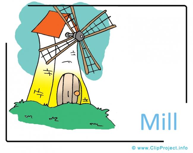 Mill Clipart Image free - Farm Cliparts free