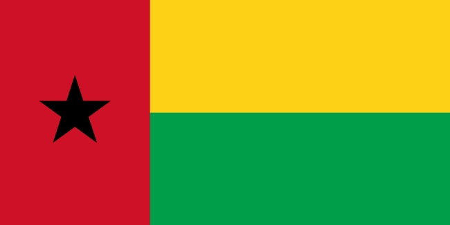 Guinea-Bissau flag image gratis