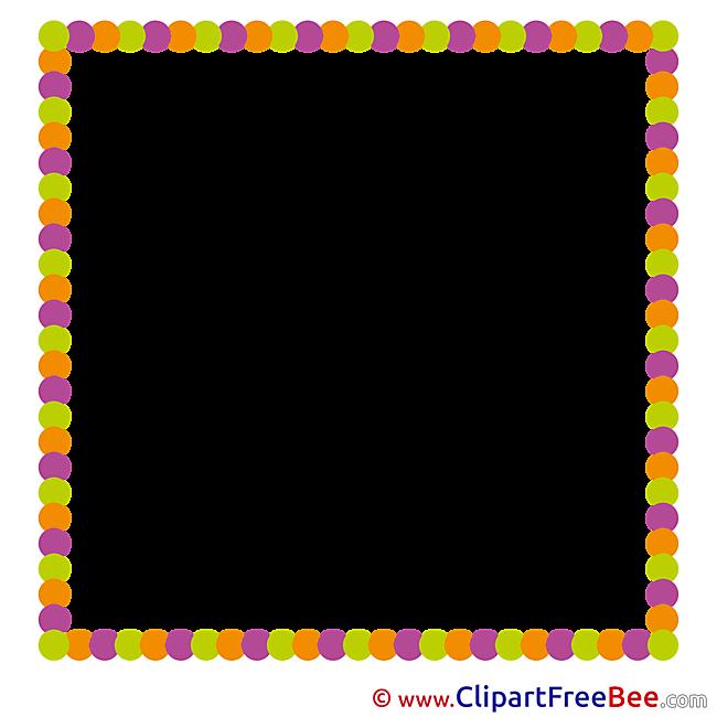 Quadrate free Cliparts Frames
