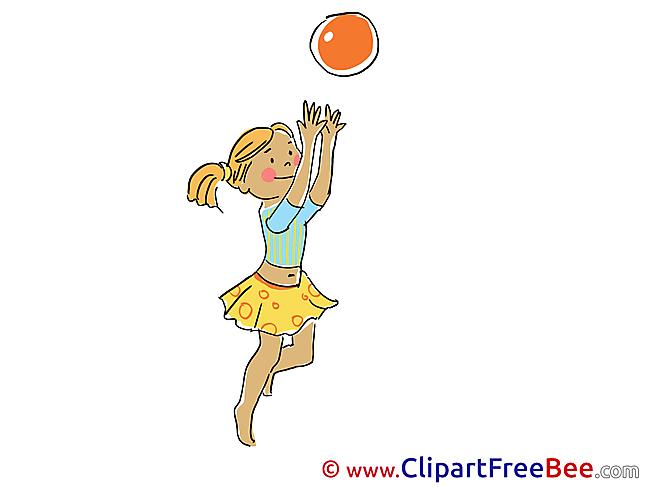 Ball Player free Illustration Vacation