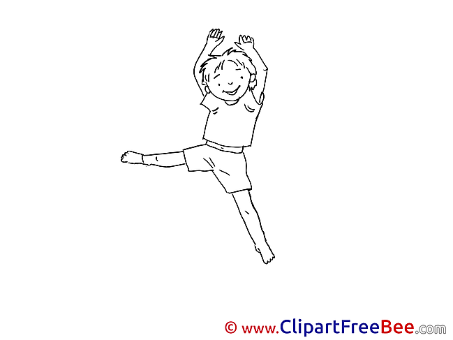 Gymnast Cliparts Vacation for free