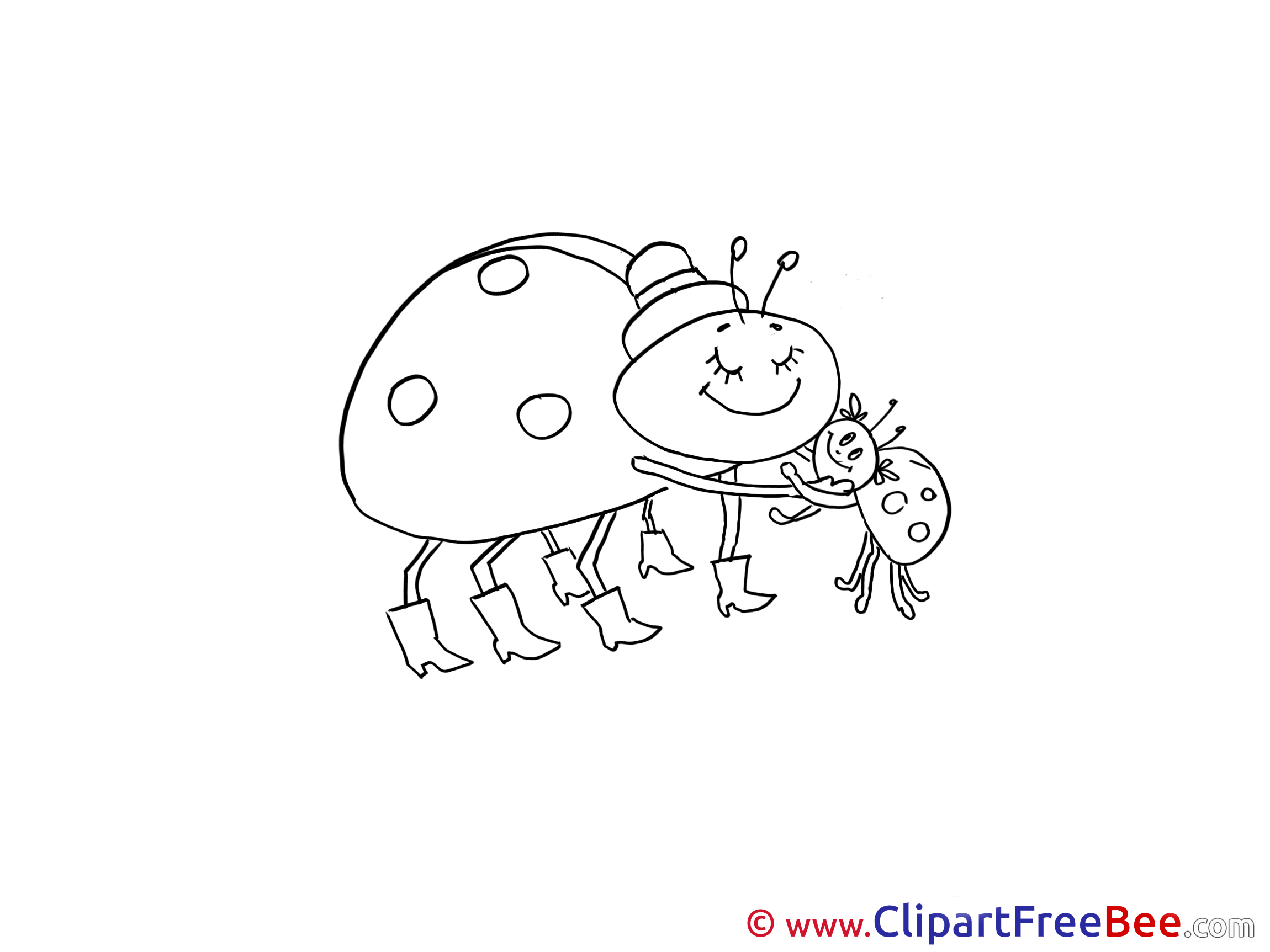 Image Ladybugs Clip Art download for free