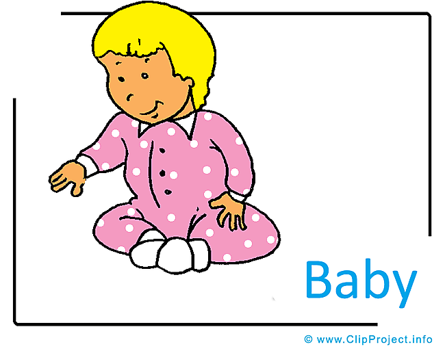 Baby Clipart Image free - Kindergarten Clipart Images for free
