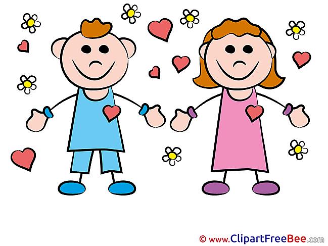 Enamored Children Cliparts Kindergarten for free