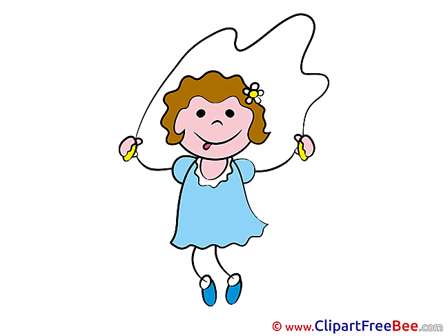 Exercises Jump Rope Clip Art download Kindergarten