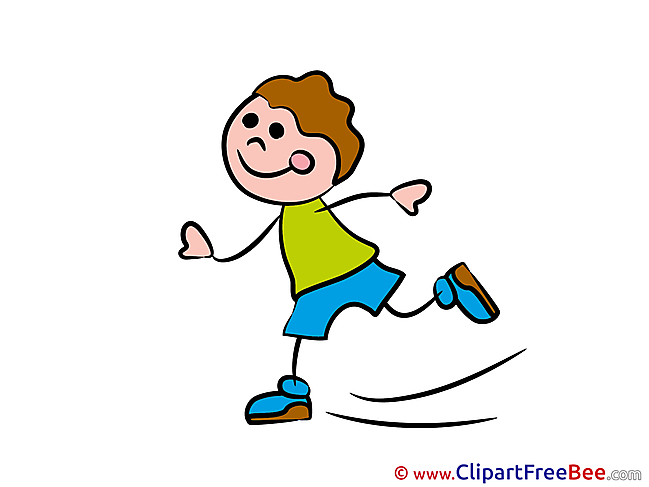 Skates little Kid free Cliparts Kindergarten