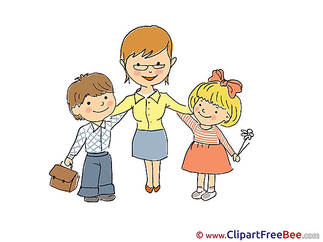 Teacher Children Kindergarten Clip Art for free