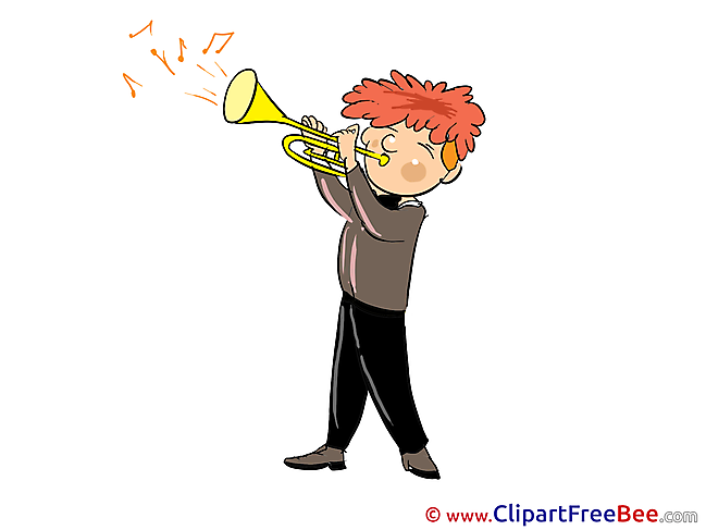 Musician Party Clip Art for free