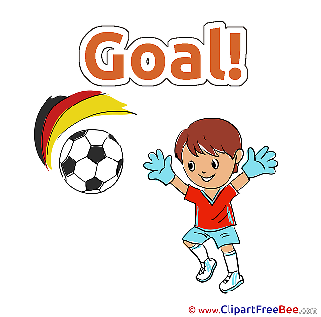 Boy with Ball Clipart Football Illustrations