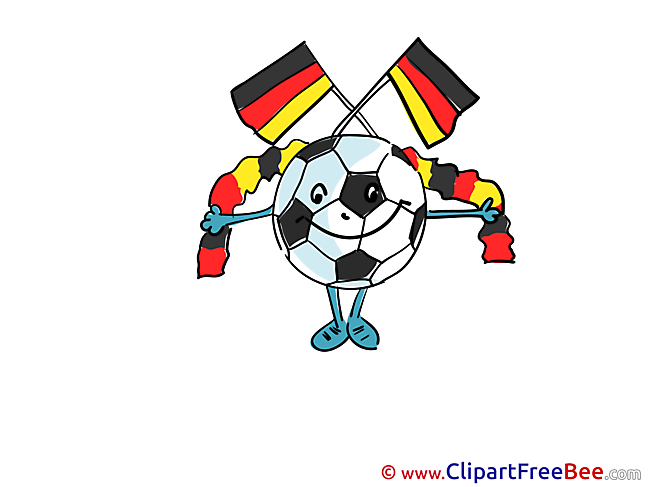 Flag Germany Football free Images download