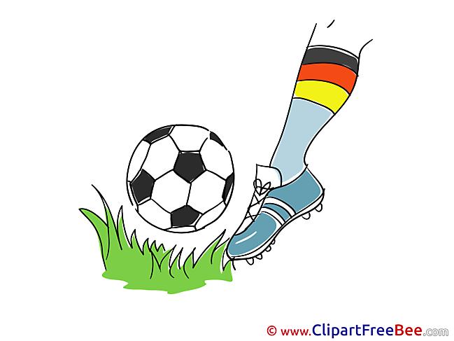 Foot Clip Art download Football