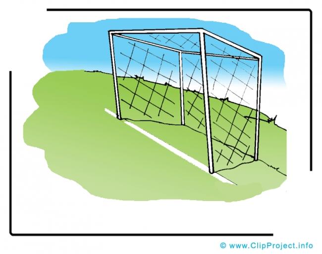 Football Goal Cli Art