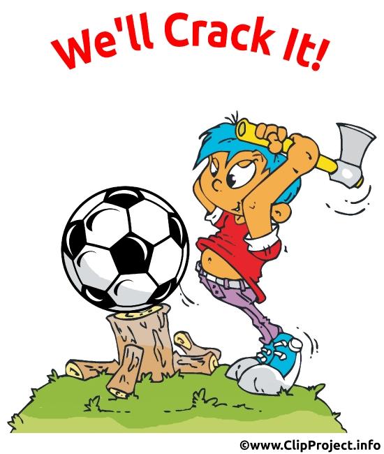 Funny Soccer Image-Clip-Art