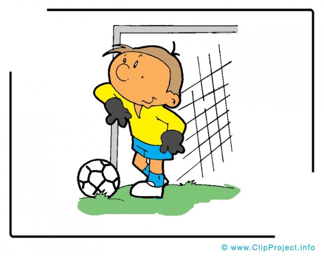 Goal Keeper Cartoon Clipart