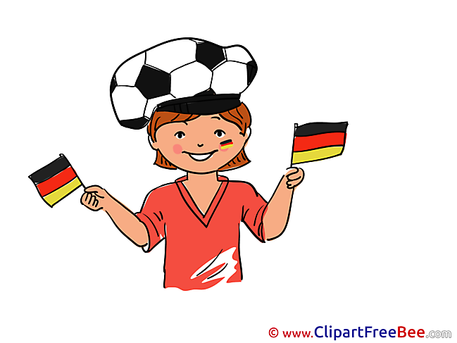 Printable Soccer Illustrations Football