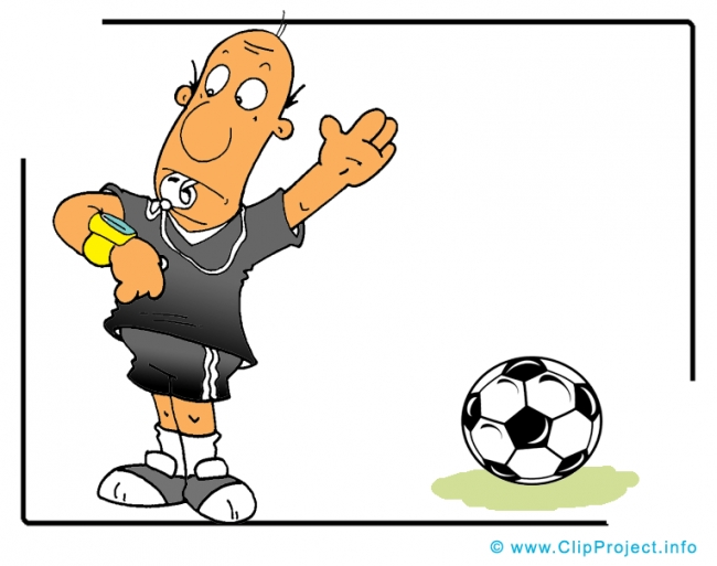 Referee Cartoon Clip Art