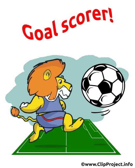 Soccer Birthday Card Goal Scorer