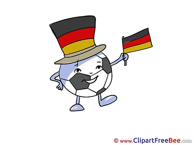 Winner Germany Football Clip Art for free
