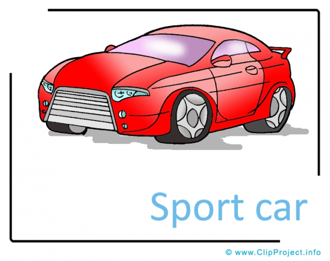 Sport Car Clipart free - Transportation Pictures free
