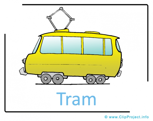 Tram Clipart Picture free - Transportation Pictures free