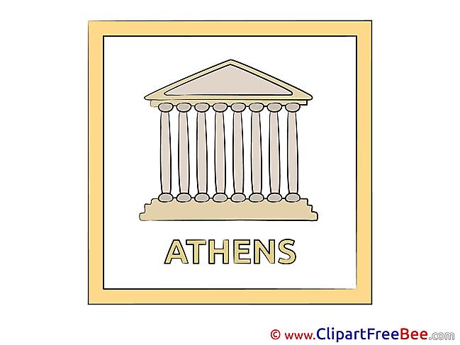 Athens Greece Pics printable Cliparts