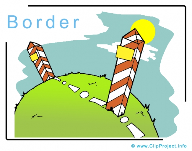 Border Clipart Image free - Travel Clipart free