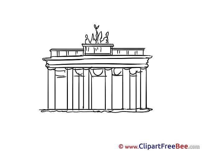 Brandenburg gate Images download free Cliparts