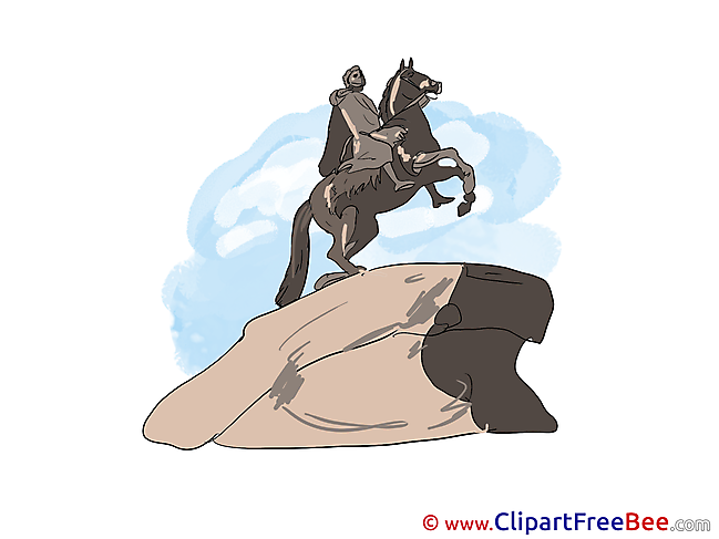 Bronze Horseman free Illustration download