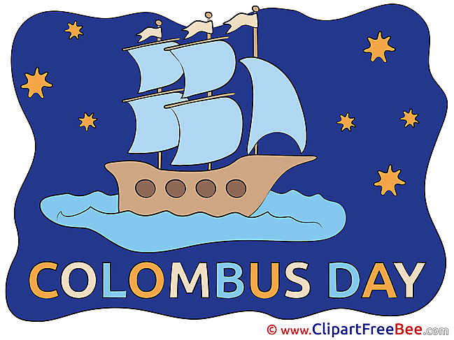 Christopher Columbus Map free Cliparts for download