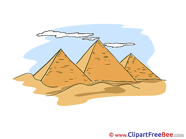 Egypt Pyramids Clipart free Illustrations