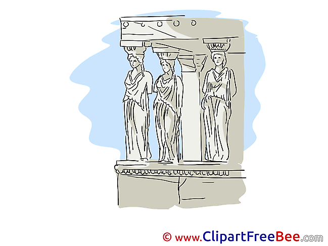 Greece Statues download printable Illustrations