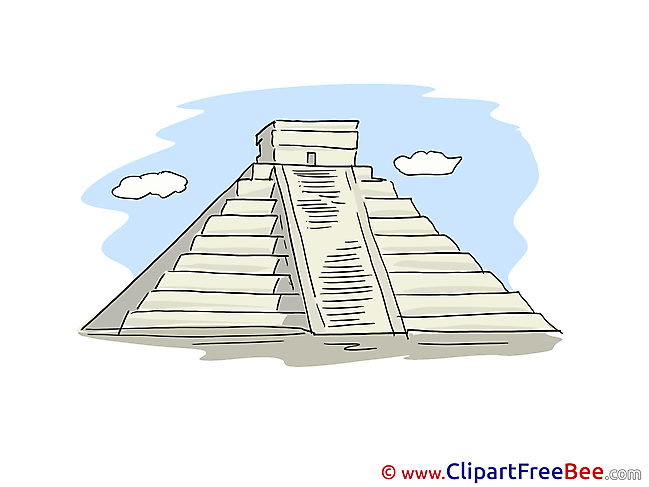 Maya Pyramid free printable Cliparts and Images
