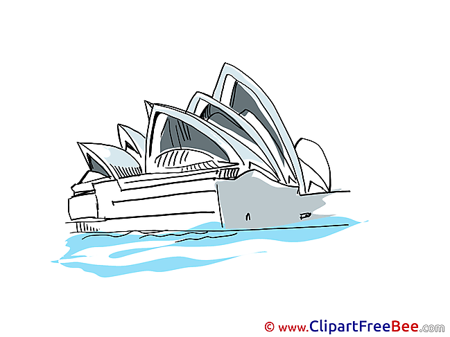 Opera Sydney Clipart free Image download