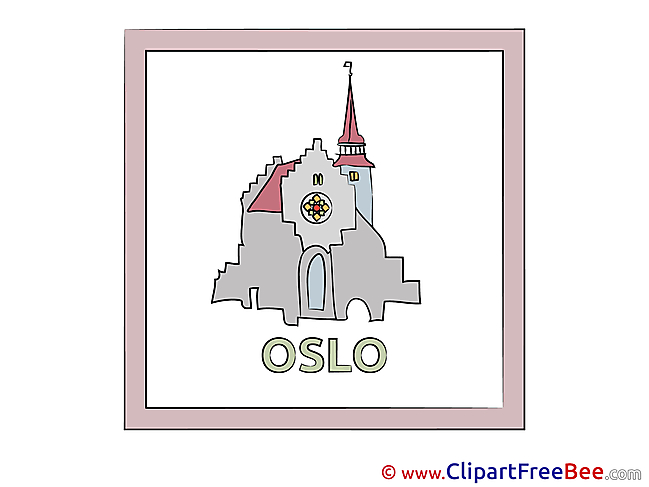 Oslo Norway Pics download Illustration