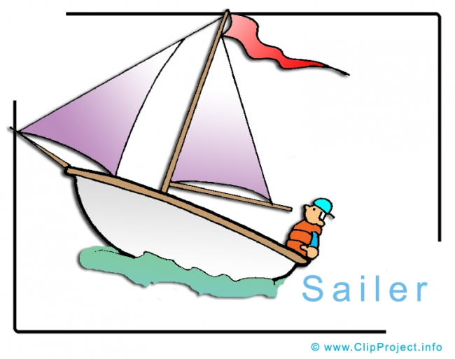Sailer Clipart Image free - Travel Clipart free