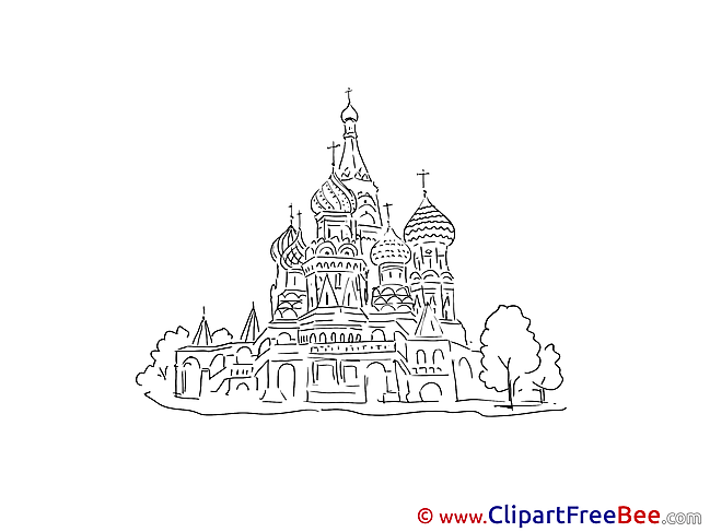 St. Basil's Cathedral Moscow Images download free Cliparts