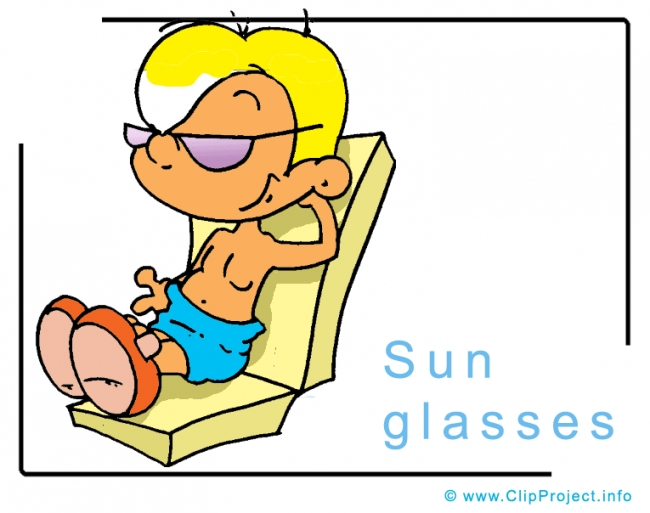 Sun Glasses Clipart Image free - Travel Clipart free