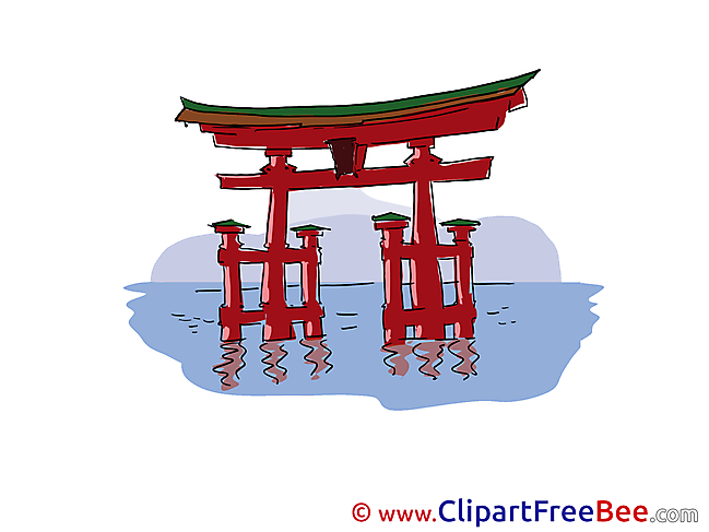 Torii Clip Art download for free