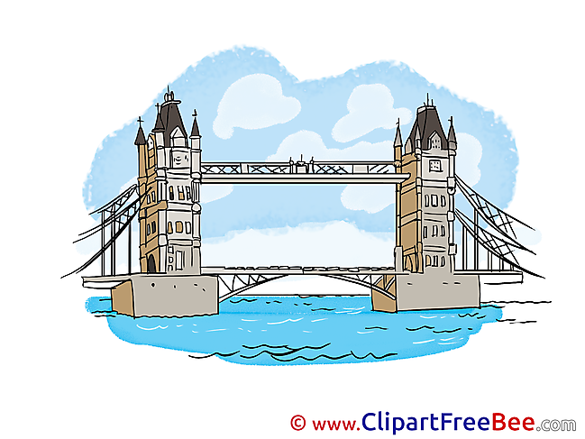 Tower Bridge free printable Cliparts and Images