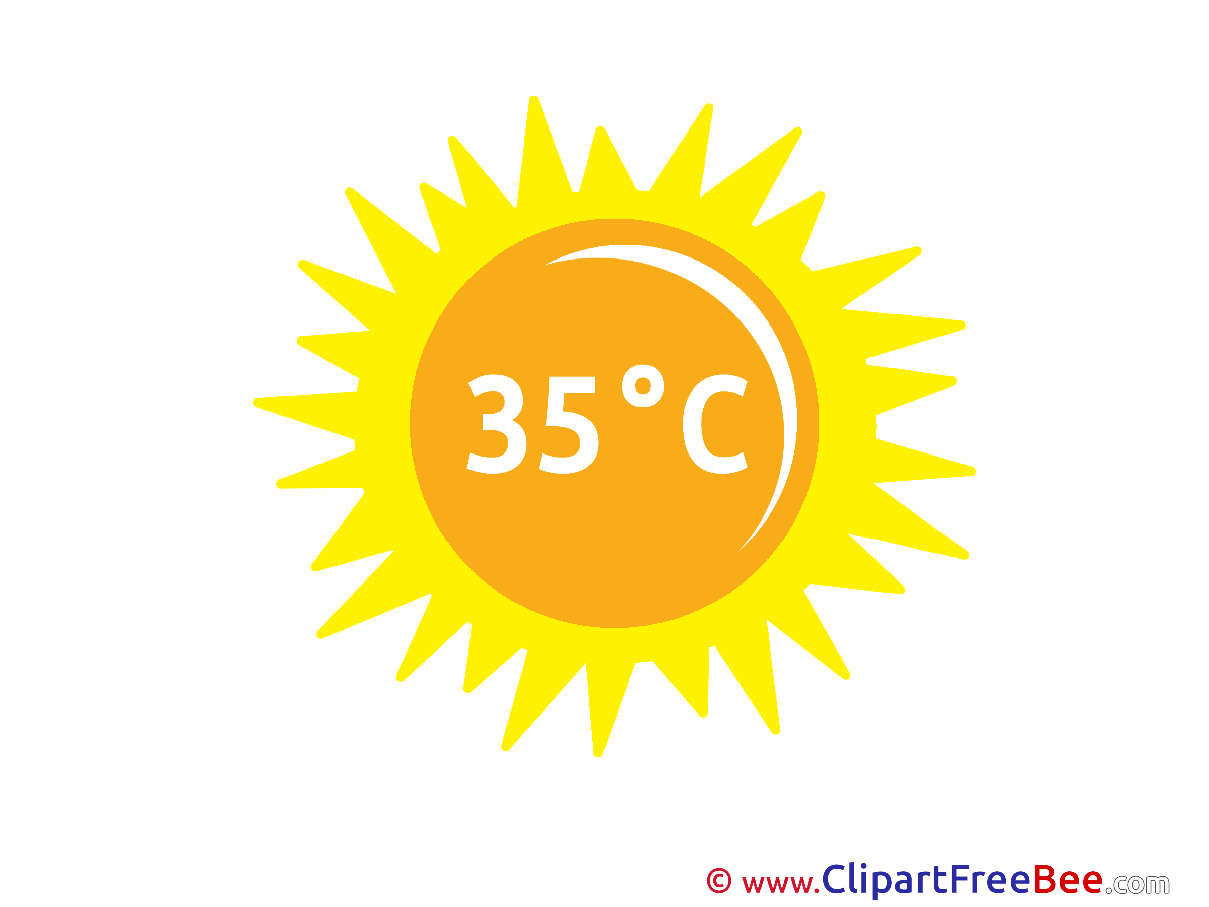 Temperature Heat free Cliparts for download